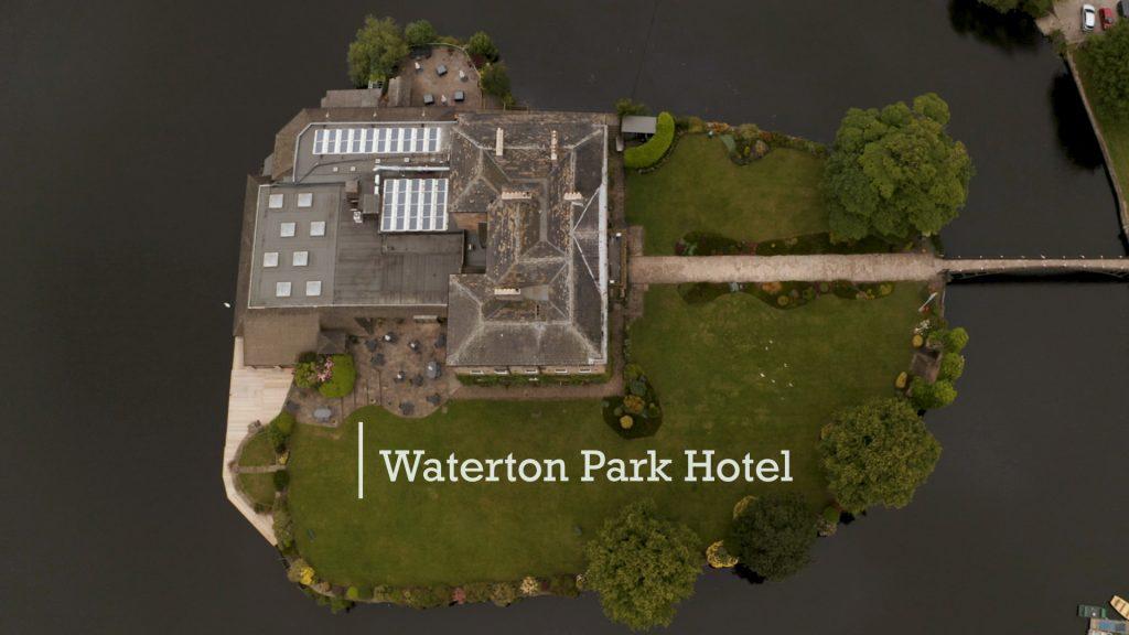 Waterton Park Wedding Drone Footage