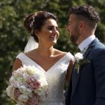 bride and groom at wentbridge house hotel